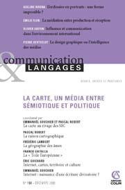 Communication & langages n°158, décembre 2008