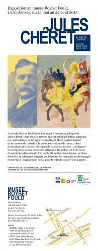 Exposition Chéret Musée Roybet Fould