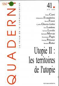 Couverture du numéro 41 de la revue Quaderni